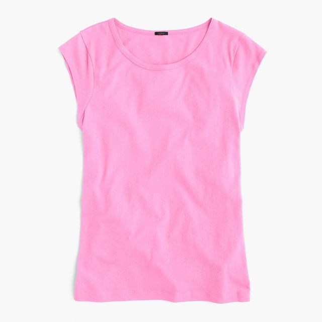 J. Crew Ballet Cap-Sleeve T-Shirt