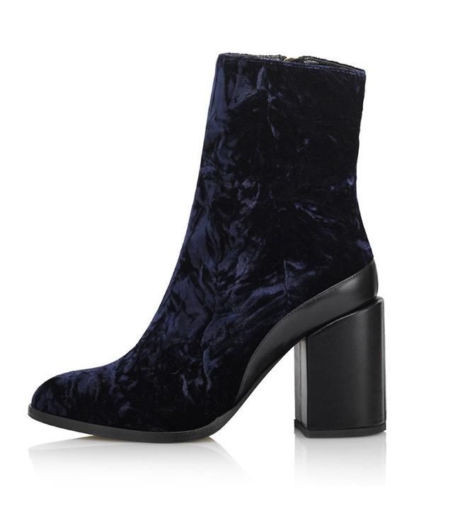 Dear Frances Spirit Boots in Velvet