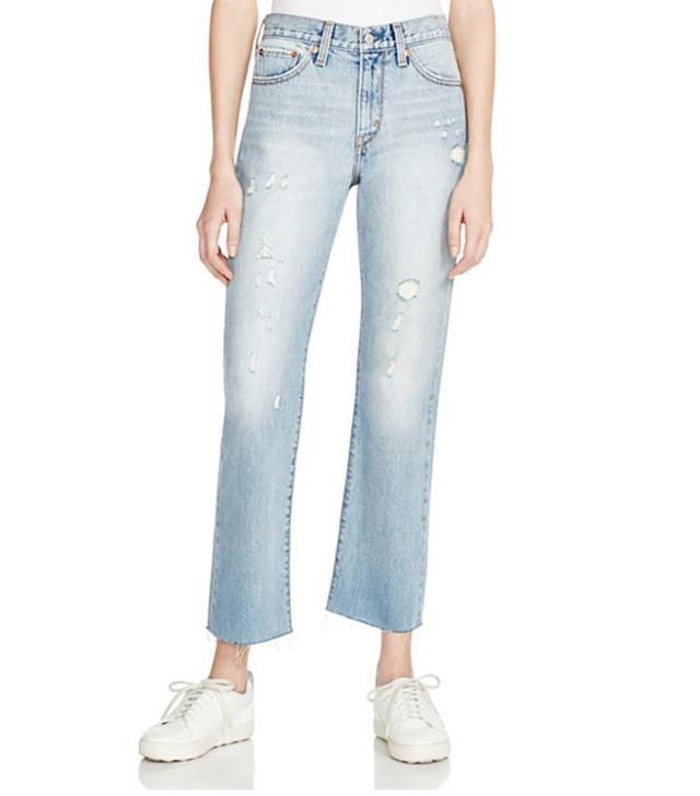 Levi's Crop Kick Flare Jeans