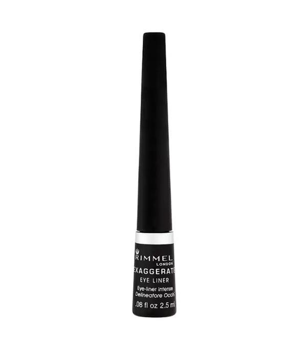 Best liquid eyeliner: Rimmel Exaggerate Liquid Eyeliner Black
