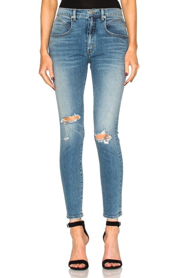 Adaptation Seamed Hi Rise Jeans