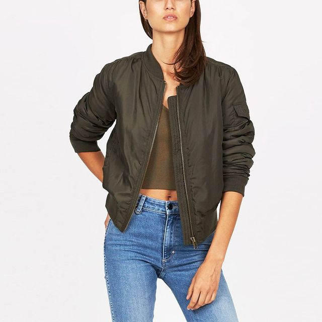 Insight Bustle 'N Bomber Jacket