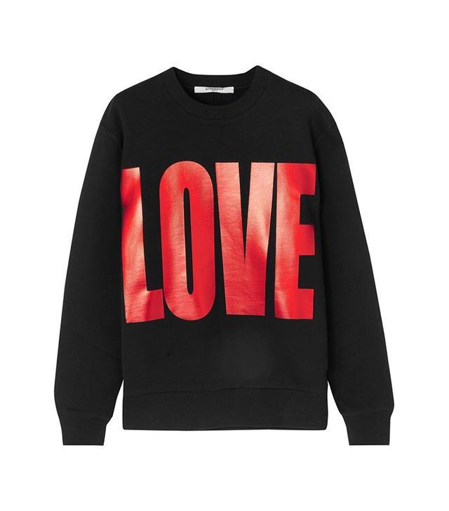 Givenchy Metallic Printed Sweatshirt
