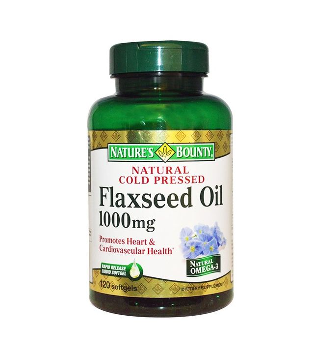 Nature's Bounty Flaxseed Oil
