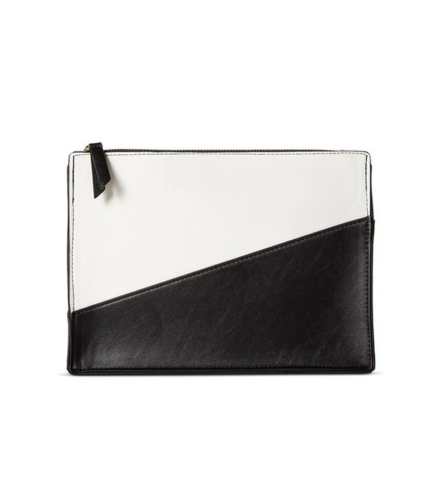 Who What Wear Color Block Clutch