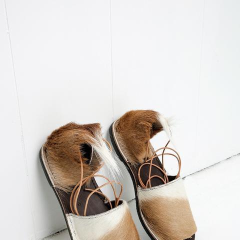 Natural Springbok Congo Sandals