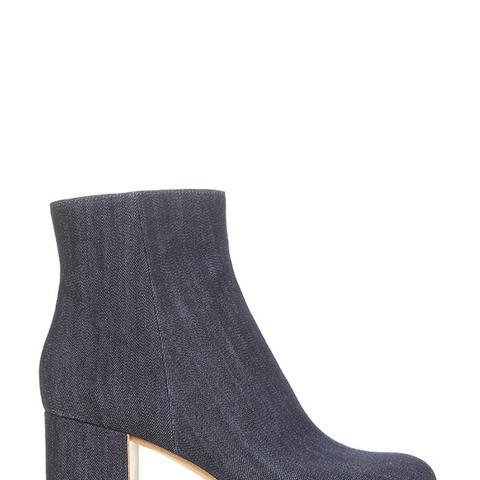Margaux Denim Ankle Boots
