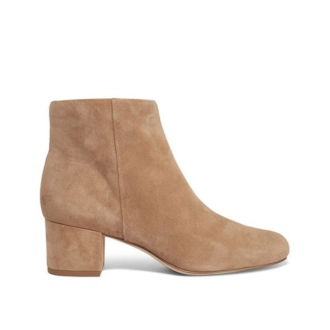 Edith Suede Ankle Boots