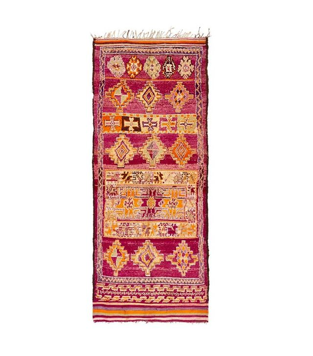 ABC Carpet & Home Vintage Moroccan Wool Kilim