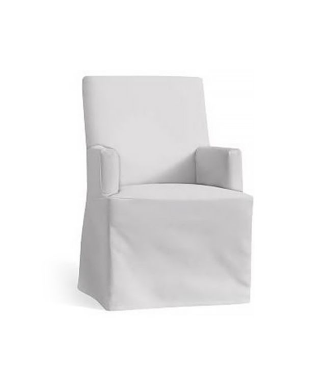 PB Comfort Dining Square Arm Chair Slipcover