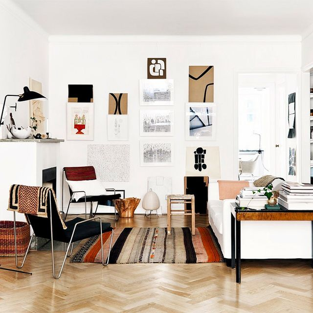 Art Lovers Will Swoon Hard Over This Chic Curated Home
