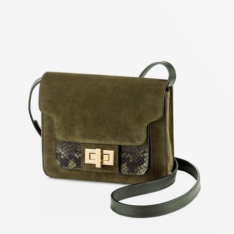 Aiale Olive Cross Body Purse