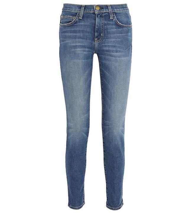 Current/Elliot The Mamacita Mid-Rise Slim-Leg Jeans