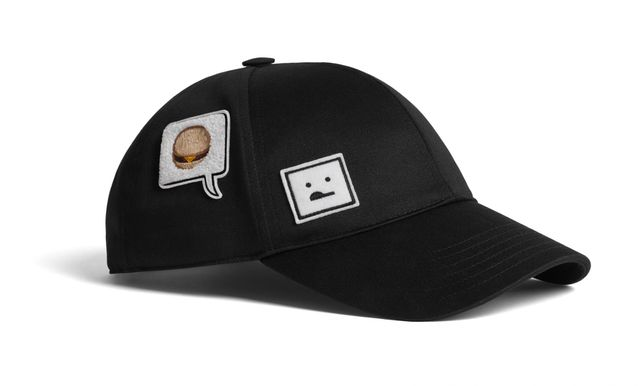 Acne Studios Camp Patch Hat