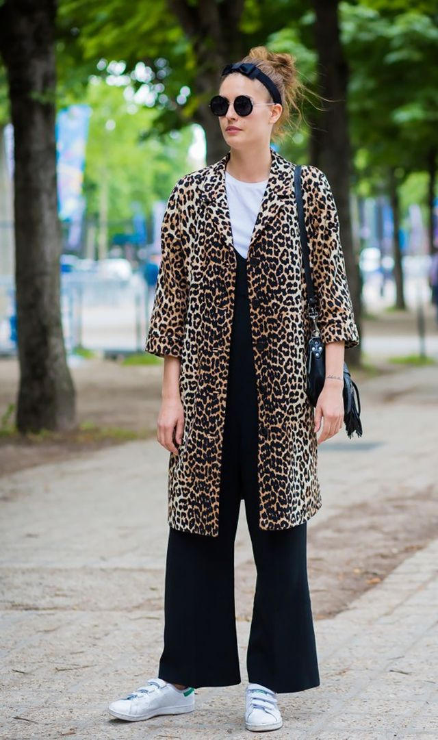 4. A leopard coat is as versatile as a pair of white sneakers.