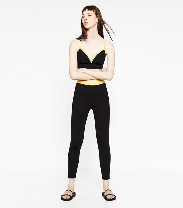 Zara Color Contrast Bra