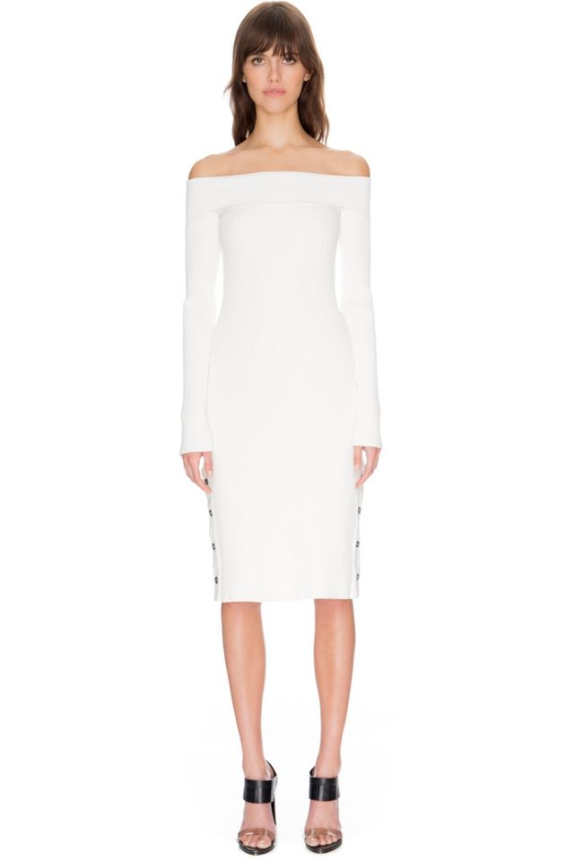 C/Meo Collective Life Is Real Long Sleeve Knit Dress