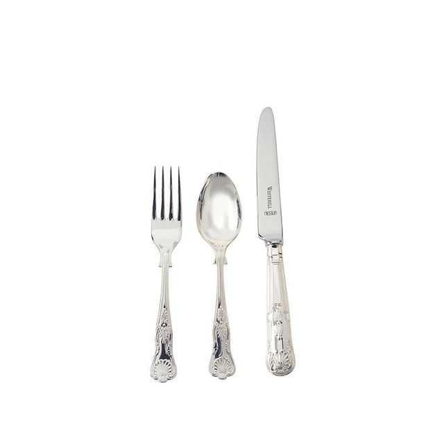Whitehill Kings 3-piece Childs Cutlery Set