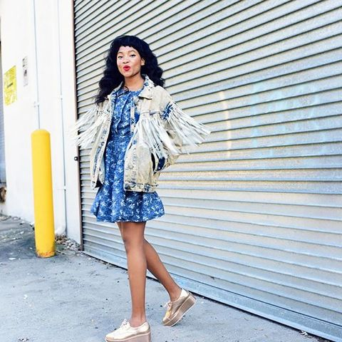 Why We're Crushing on This Blogger's Style
