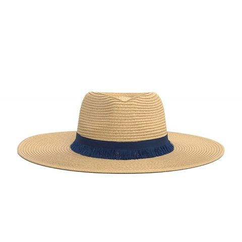 Contrast Ribbon Hat