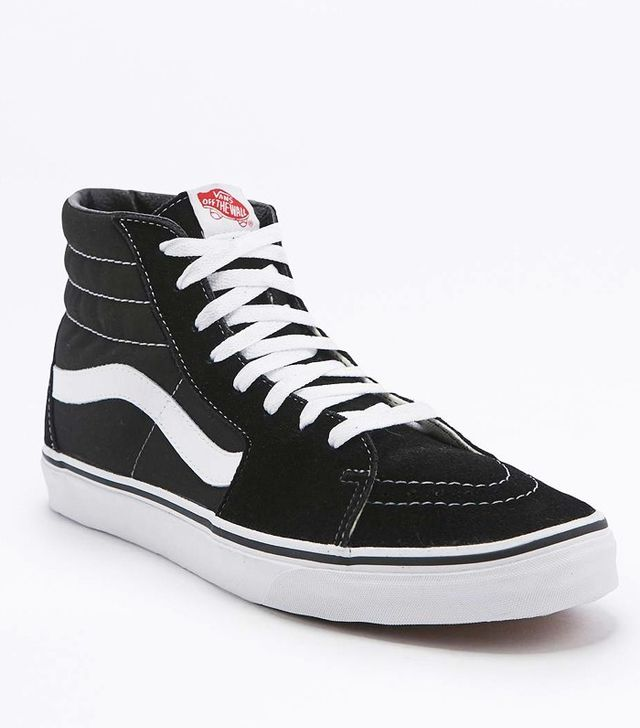 Vans Sk8-Hi Black and White Trainers