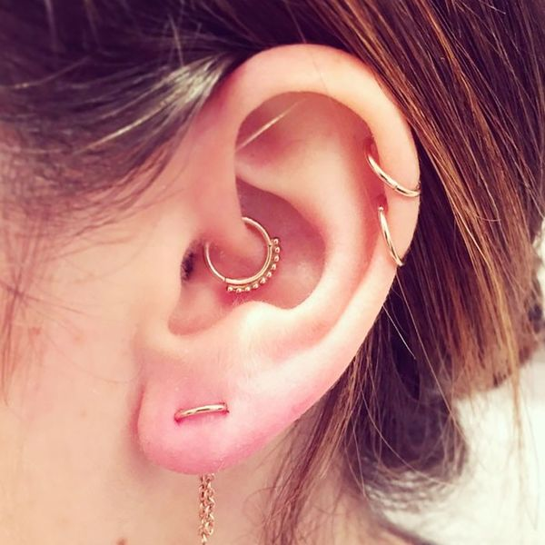 Fashionista's executive editor has a collection of cool piercings.