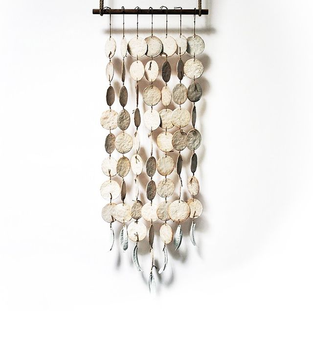 MQuan Disc & Featherbone Wall Hanging
