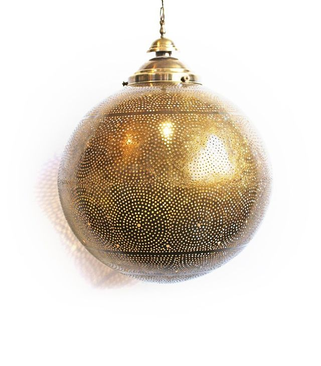 Mix Design Brass Work XL Ball Lantern
