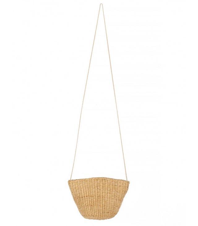 Pixie Market Mini Raffia Shoulder Bag