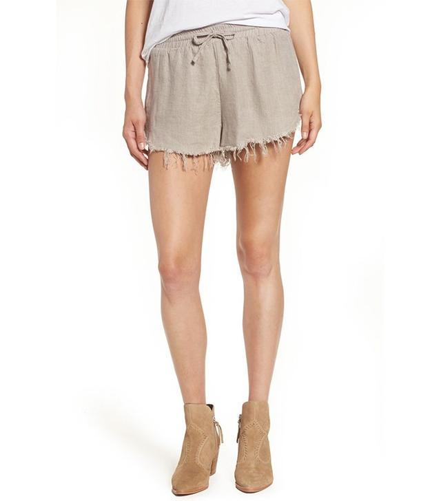 Shop Sincerely Jules Lea Cotton Drawstring Shorts