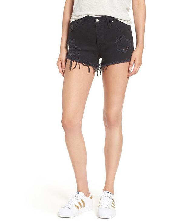 Shop Sincerely Jules Riley Cutoff Denim Shorts