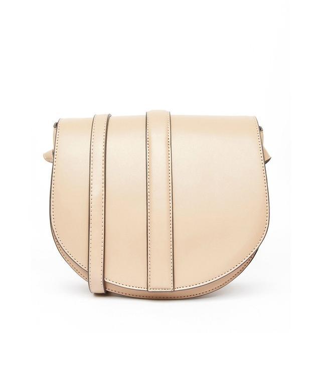 ASOS Warehouse Clean Saddle Bag