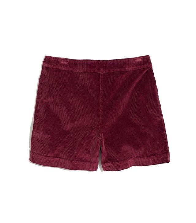 Madewell Williams Corduroy Shorts