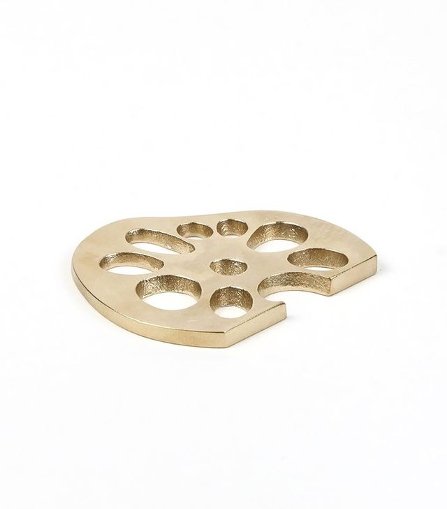 Saikai Lotus Brass Bottle Opener