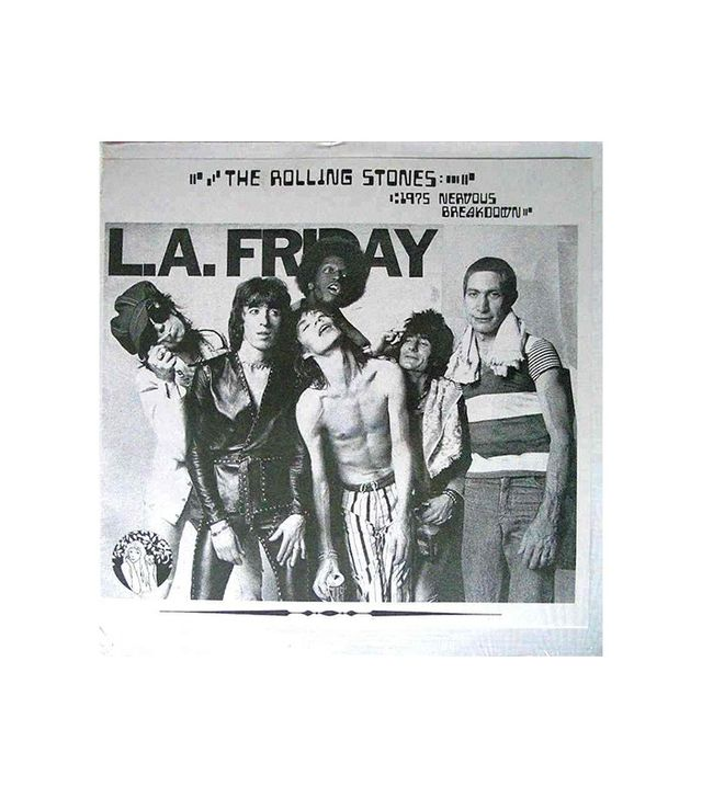 L.A.Friday 1975 Nervous Breakdown by The Rolling Stones