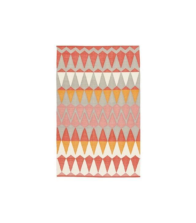 Margo Selby Zigzag Stripe Kilim Rug