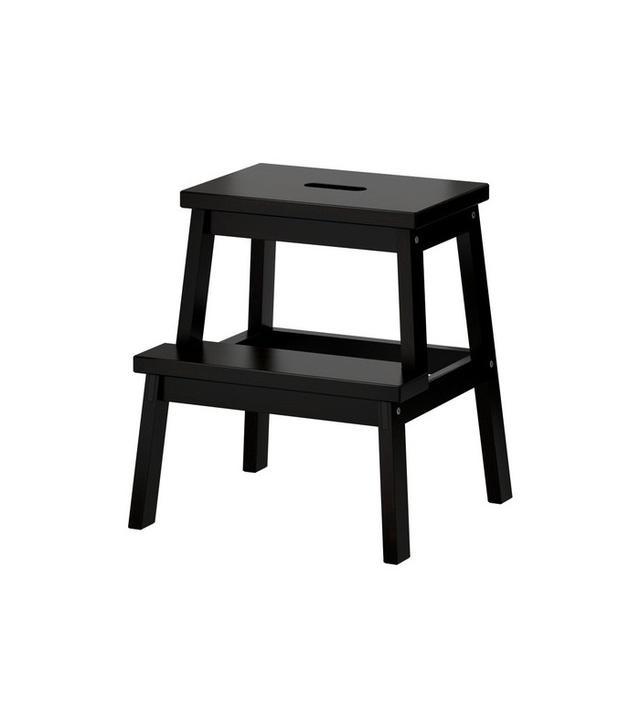 IKEA Bekväm Step Stool in Black