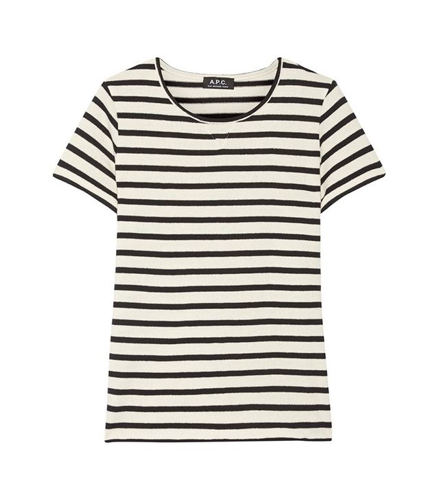 A.P.C. Atelier de Production et de Creation Lynn Striped Cotton Shirt