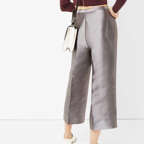 Celsee Cropped Metalic Culottes