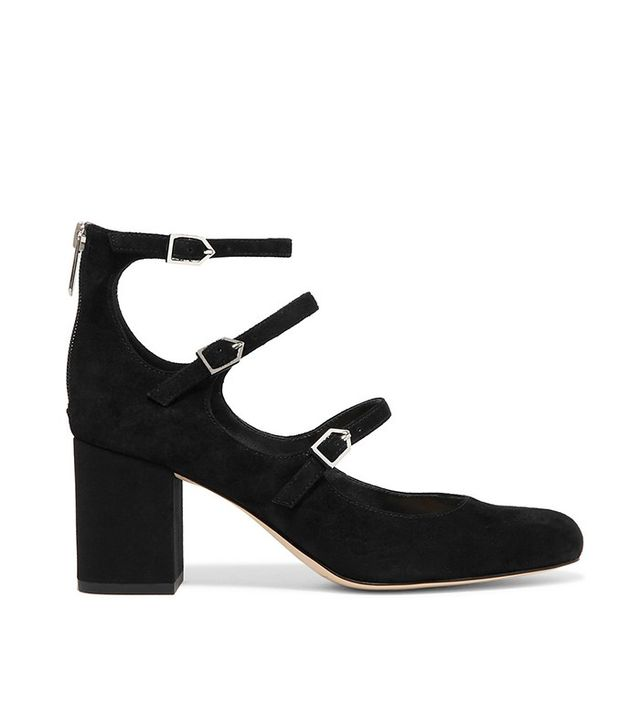 Same Edelman Calista Suede Pumps
