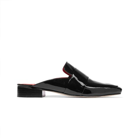Filiskiye Patent-Leather Slippers