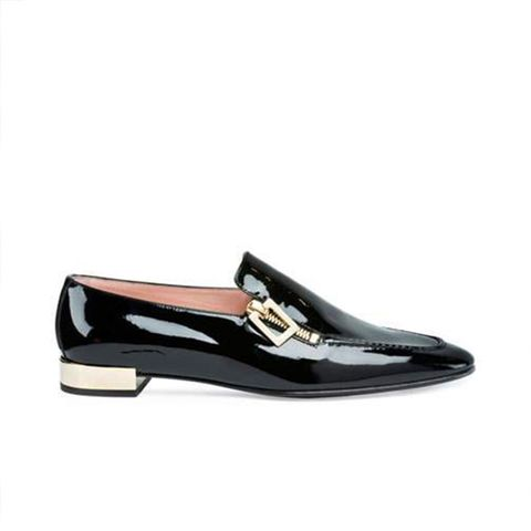 Polly Patent Zip Loafer