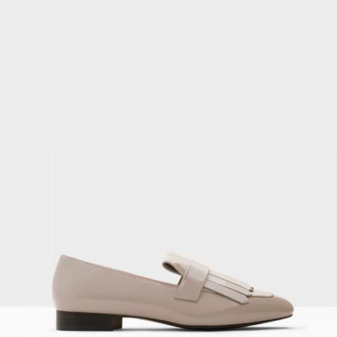 Fringe Patent Leather Shoe
