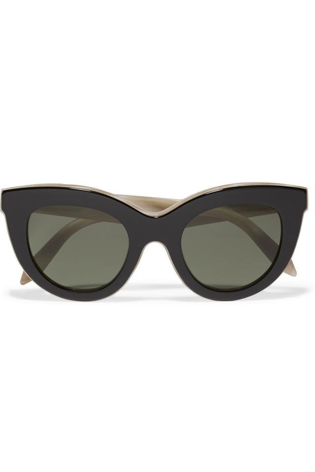 Victoria Beckham Cat-Eye Acetate Sunglasses
