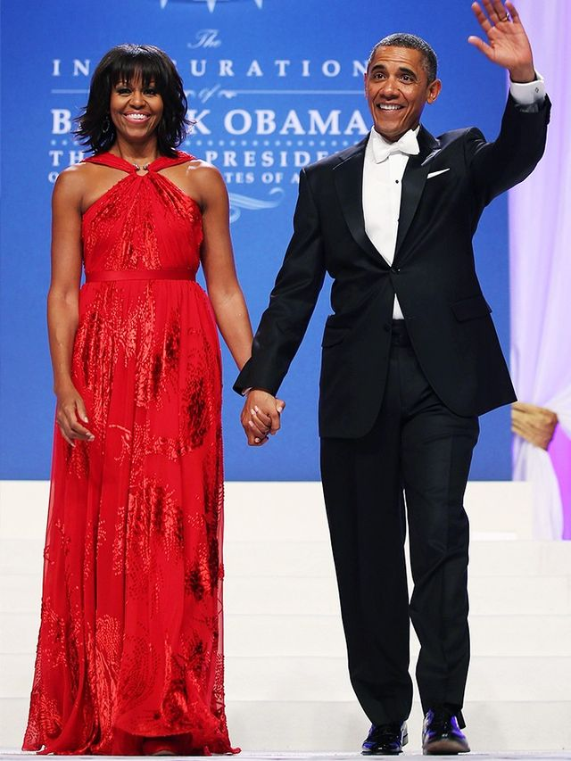 Michelle Obama wearing Jason Wu for the second Inauguration Ball,2013. WWW UK:Where were you and what you were doing when you found out you'd dressed Michelle Obama for the first...
