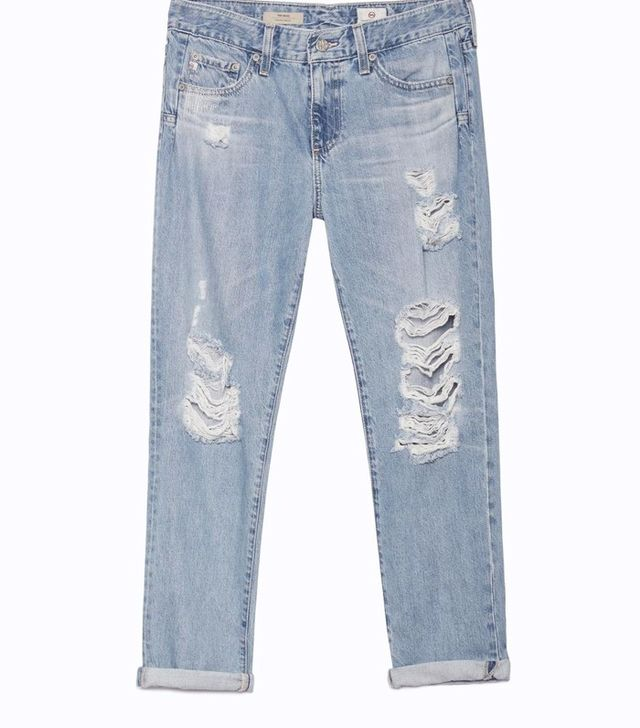 AG Jeans The Beau Ripped Jeans