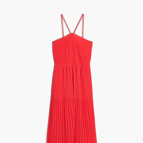 Textured Strap Dress