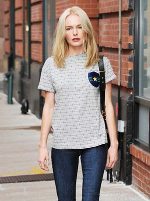 Kate Bosworth's Old Navy Skinny Jeans Are So Flattering