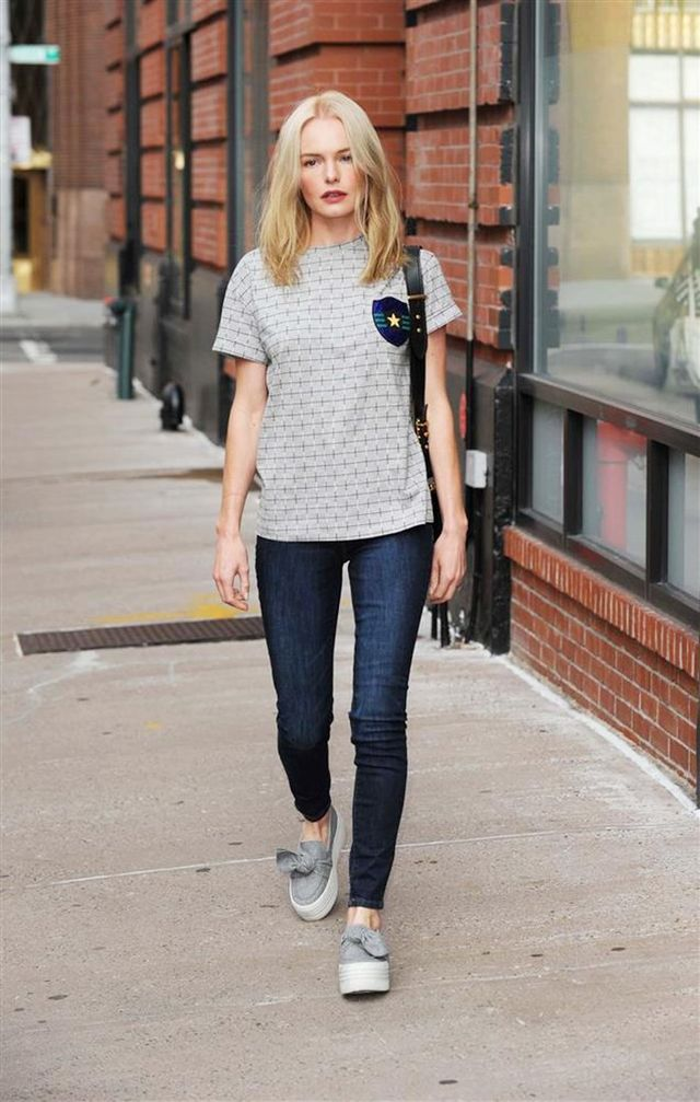 Kate Bosworth S Old Navy Skinny Jeans Are So Flattering