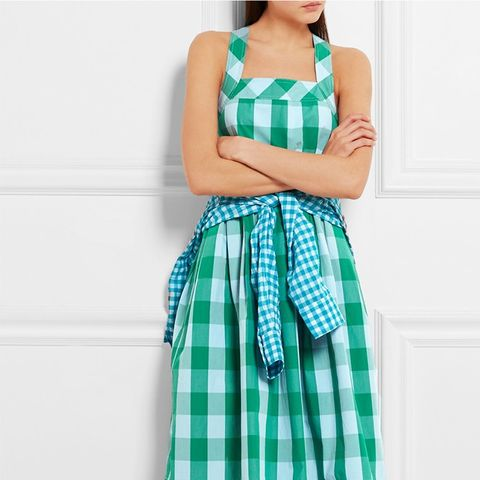 Karina Gingham Dress